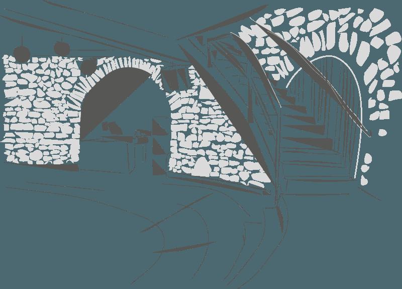 Turm Rondell Skizze